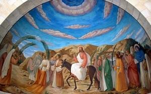INTRAREA IN IERUSALIM A DOMNULUI NOSTRU ISUS HRISTOS