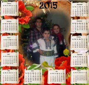 CALENDAR 2015 IN BUCOVINA